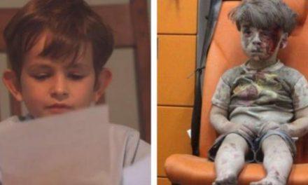 Ofrece un lugar en su familia a niño sirio