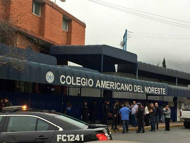 Tiroteo en Colegio al sur de Monterrey