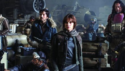 ¨ Rogue One ¨ Una historia de Star Wars, primer lugar en taquilla de EUA