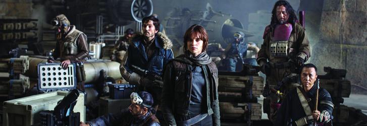 ¨ Rogue One ¨ Una historia de Star Wars, primer lugar en taquilla de EUA