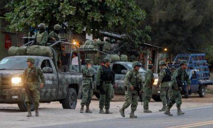 500 SOLDADOS A REFORZAR SEGURIDAD EN EL NORTE DEL ESTADO
