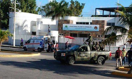Saldo de 6 muertos en balacera afuera de Fiscalía en Cancún