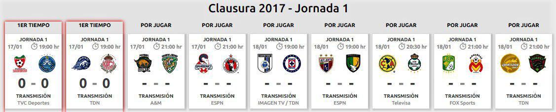 Comienza la Copa Mx, quedó fuera Tampico-Madero