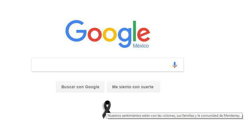 Google México se solidariza con las familias de las víctimas en Monterrey