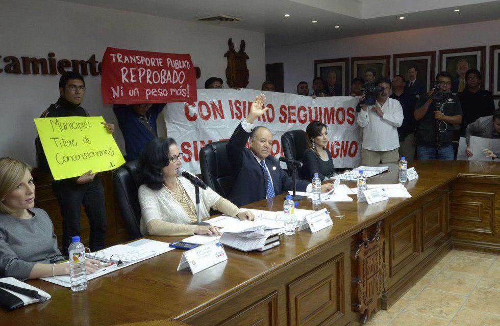 APRUEBAN INCREMENTO A TARIFA DE TRANSPORTE EN SALTILLO