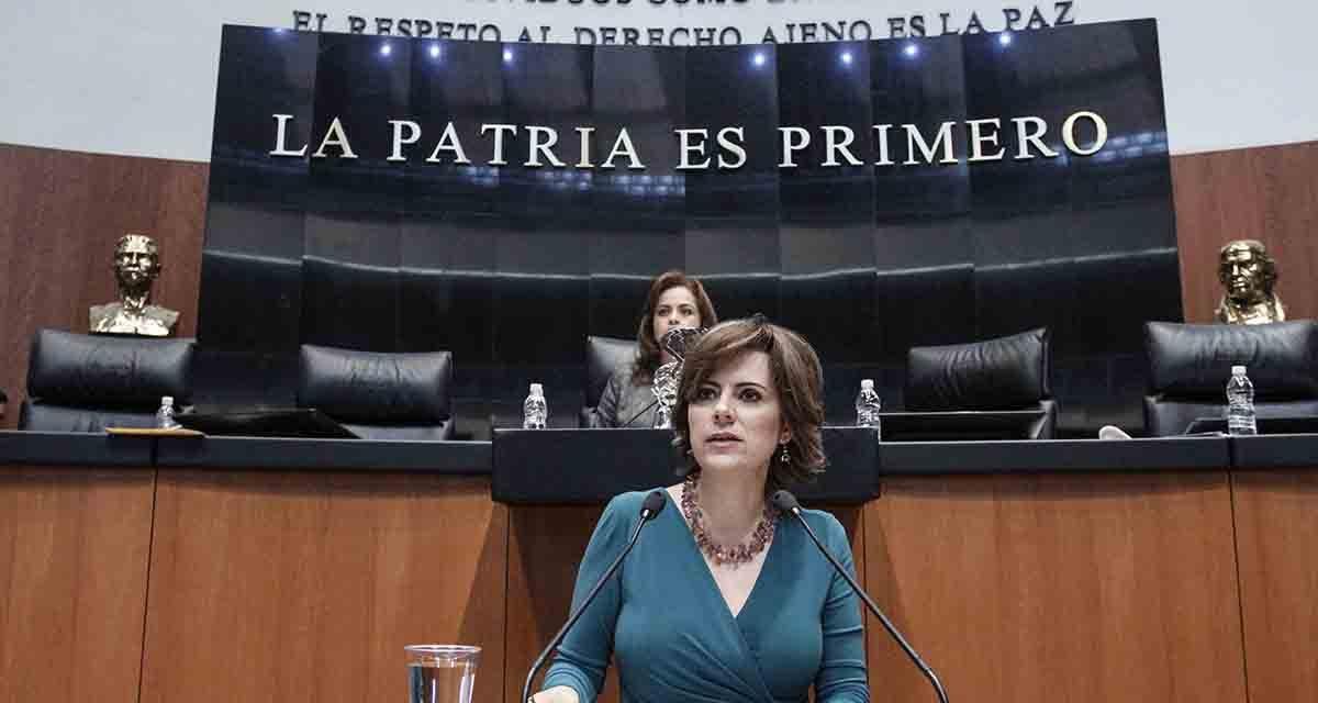 Senadora Hilda Flores deja contienda por gubernatura