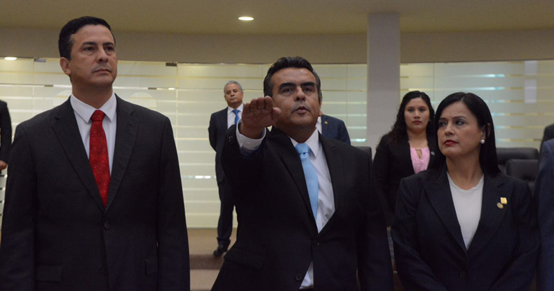 Horacio Ortiz nuevo presidente de la STJT
