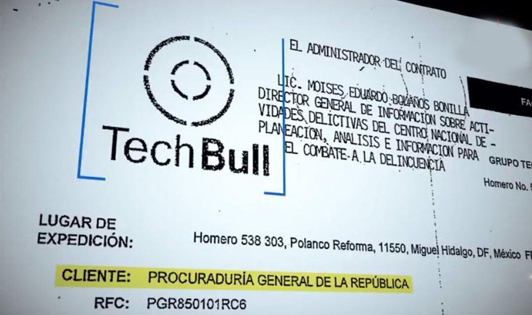 La compra del software Pegasus por la PGR, fue gestionada por prestanombres