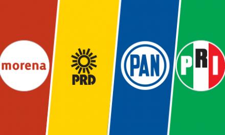 Consulta Mitofsky: El PAN encabeza (18.6%) las preferencias para el 2018, después MORENA (17.7%) y PRI (16.6%)