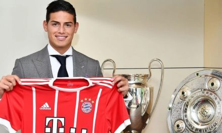 James Rodríguez aseguró que el Bayer es igual o incluso mas grande que el Real Madrid
