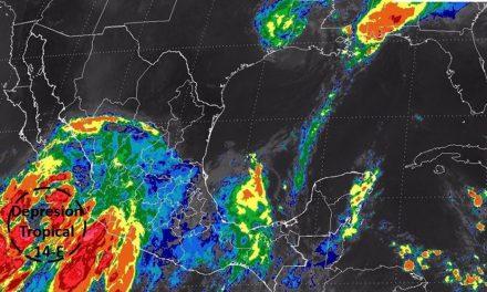 DepresiónTropical 14-E en el Océano #Pacífico y sus efectos en #México