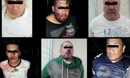 Detienen a banda que asaltan cajeros en Guadalupe, Nuevo León.