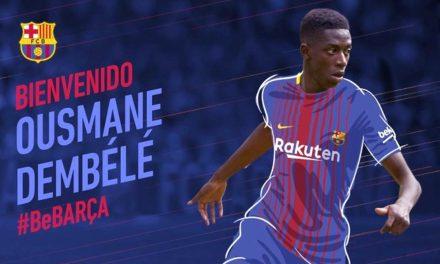FC Barcelona ficha a Dembelé