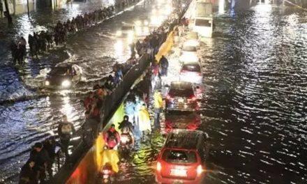 Lo que sucedió en CDMX después de horas de lluvia.