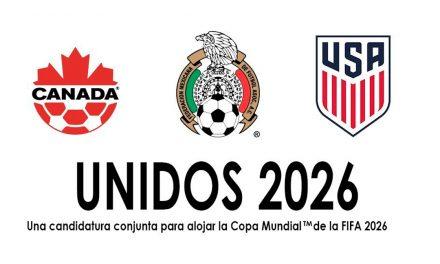 Comité de Candidatura Conjunta de Mundial 2026 tomará en cuenta 49 estadios