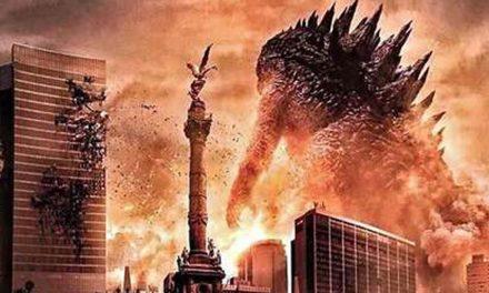 Godzilla estará México a destruir el Centro Histórico