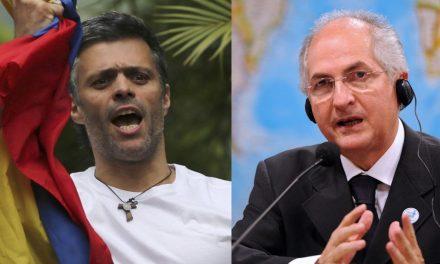 Leopoldo López y Antonio Ledezma fueron detenidos de nuevo en Venezuela