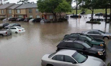 Timelapse que dejó Harvey en Houston