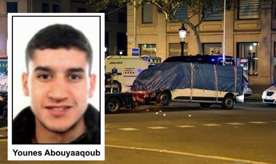 Fue abatido el presunto autor del atentado de Barcelona  Abouyaaqoub de 22 años.