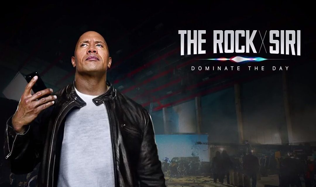 Dwayne The Rock Johnson: #Dominateyourday #rockxsiri