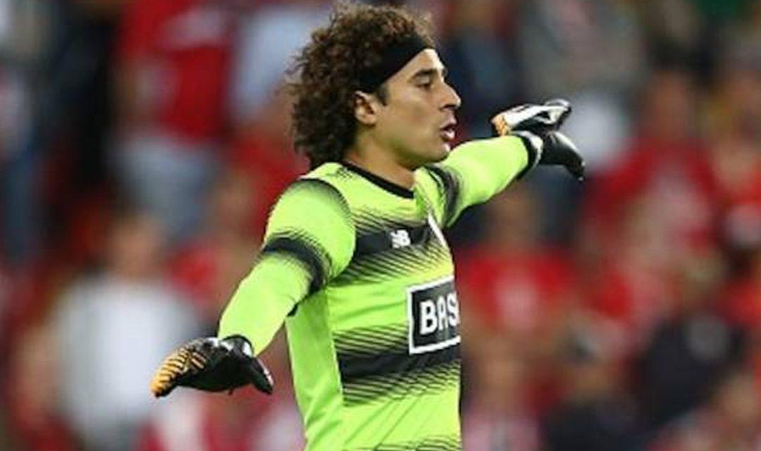 Golearon a Ochoa  en la Liga de Bélgica