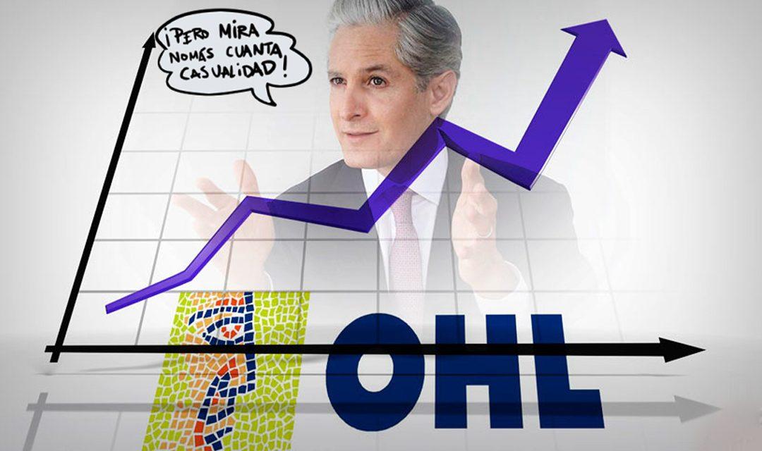 El PRI paga favores a OHL