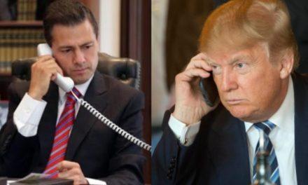 Trump: Somos usted y yo contra el mundo, Enrique, no lo olvide.