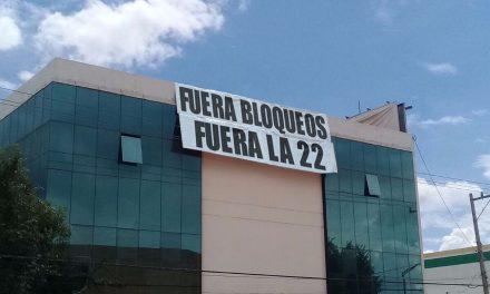 Así reciben a Peña Nieto en Oaxaca.