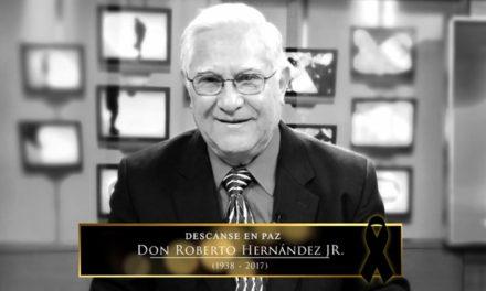 Fallece Don Rober a los 79 años de edad, un gran comentarista deportivo.