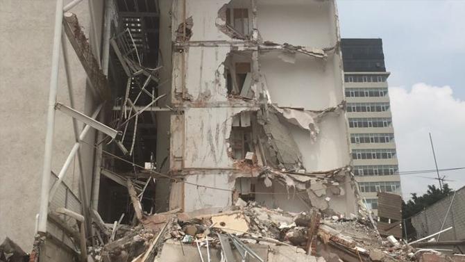 Tras sismo la constructora Canada Building Systems México, no se hace responsable del desastre.
