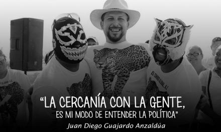 Juan Diego una invitación muy especial a un informe de gobierno.