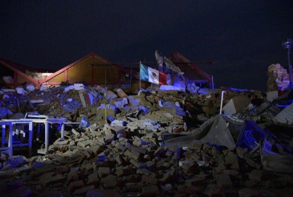 Juichitán en medio del desastre y la angustia tras terremoto. (video e imágenes)