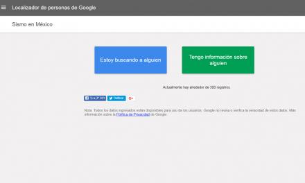 Habilitan su localizador de personas y alerta SOS: Google