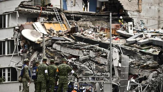 México 72 hrs después del sismo