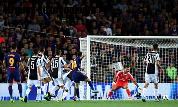 Messi por fin anota a Buffon (aquí los goles)