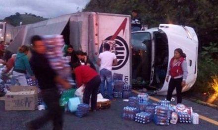 Rapiña a camión con víveres para el Istmo.