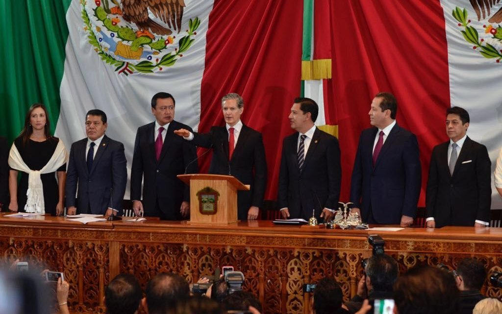 Alfredo del Mazo rinde protesta como gobernador del Edomex
