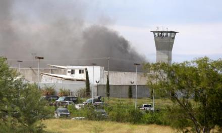 Riña en penal de #Cadereyta Nuevo León deja 13 fallecidos y 8 heridos