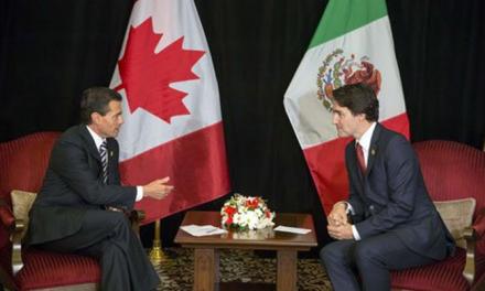 Justin Trudeau anunció su visita a México el 12 y 13 de octubre.