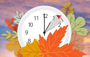 El próximo domingo 29 de octubre termina el Horario de Verano
