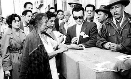 El 17 de octubre de 1953 se publicó en el Diario Oficial de la Federación el decreto en el que se reconocían los derechos de las mujeres al #VotoFemenino
