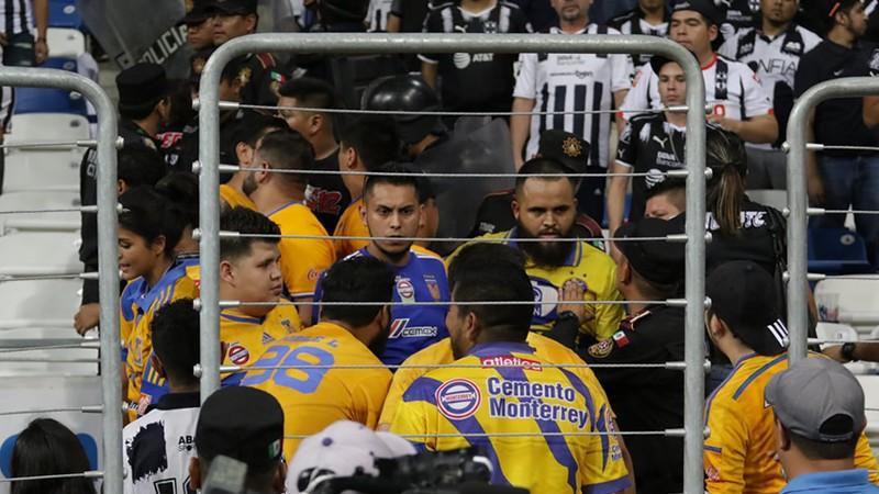 Rayados prohibe el acceso a los aficionados de tigres en el clásico regio.