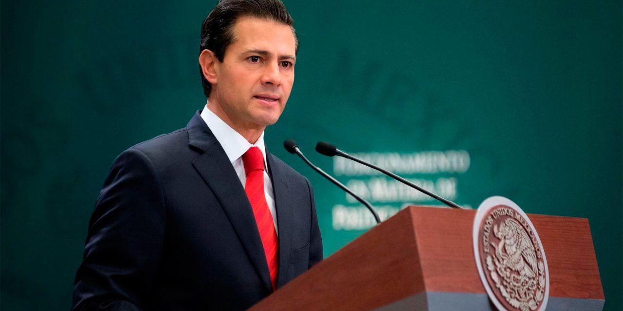 EPN dará mensaje y posible destape de candidato del PRI