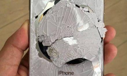 La fragilidad del iPhone X.