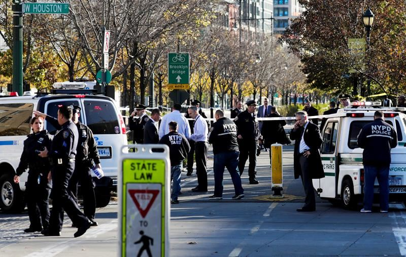 ATAQUE TERRORISTA EN NY DEJA 4 LESIONADOS