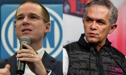 MANCERA ACEPTARÍA A RICARDO ANAYA COMO EL CANDIDATO DE FRENTE CIUDADANO.