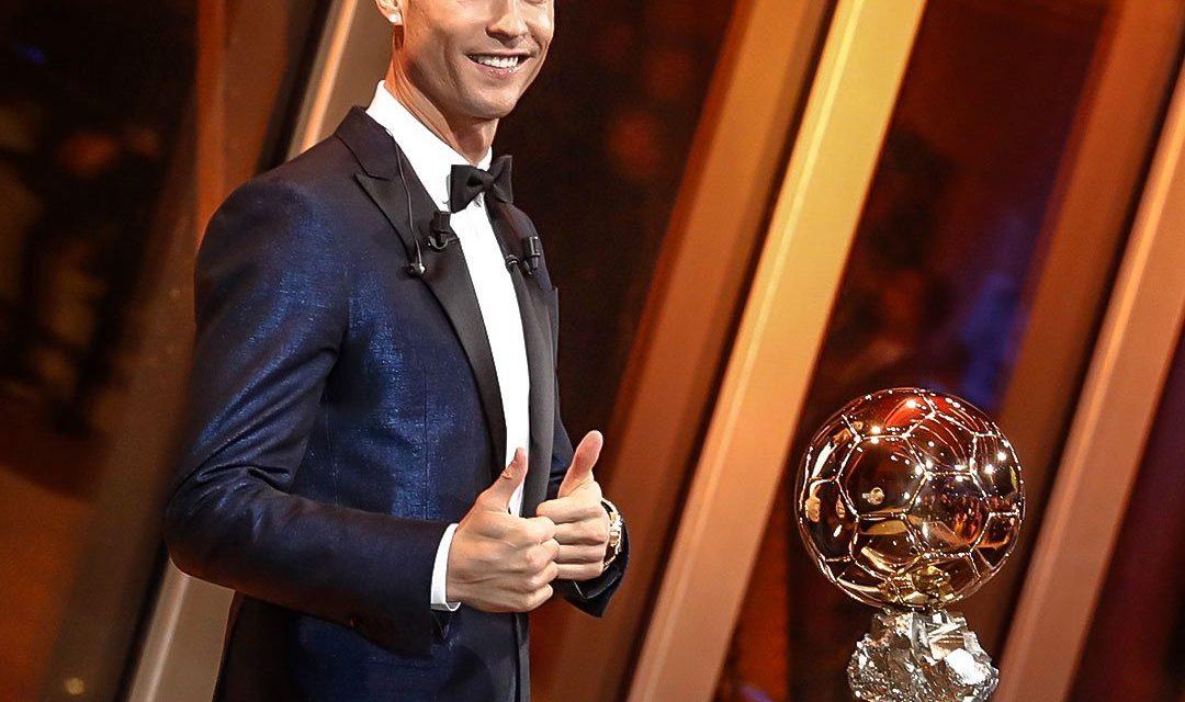 Cristiano Ronaldo gana su 5to balón de oro