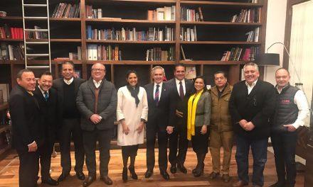 El PRD cierra filas con Miguel Ángel Mancera para fortalecer al Frente Ciudadano por México