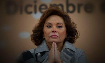 ELBA ESTHER GORDILLO SALDRÁ DE PRISIÓN.