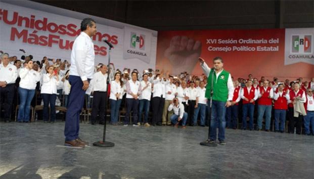 Miguel Ángel Riquelme toma protesta como Gobernador de Coahuila.